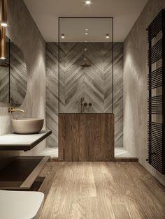 Rustic Bathrooms, Dream Bathrooms, Small Bathroom, Washroom Design, Bathroom Design Luxury, Log Home Interiors, Shower Remodel, Bathroom Renovations, Bathroom Inspiration