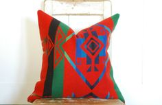 Wool Pillow Cover Decorative Pillows Throw by KenilworthPlace