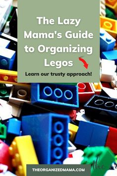 We provide solutions on how to easily organize legos! If you're tired of stepping on legos or losing the hundreds of tiny pieces, no fear, we have a guide to organizing legos! Check out The Organized Mama blog for our Lazy Mama's Guide to Organizing Legos. Be sure to follow The Organized Mama for more simple organizing hacks. Kids Bedroom Organization, Small Space Organization, Playroom Organization, Organization Hacks, Organizing, Small Playroom, Inspiration For Kids, Decluttering, Getting Organized