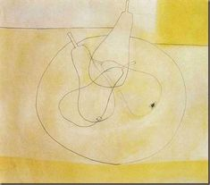 Four Pears, 1955 by Ben Nicholson on Curiator, the world's biggest collaborative art collection. Still Life Drawing, Still Life Art, Line Drawing, Painting & Drawing, Collages, Art Aquarelle, Art Walk, Collaborative Art, Mail Art
