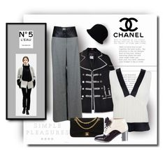 """Eleganza"" by michelletheaflack ❤ liked on Polyvore featuring Chanel"