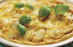 Spansk omelett til tapas