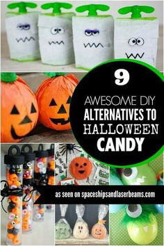 9 alternatives to halloween candy