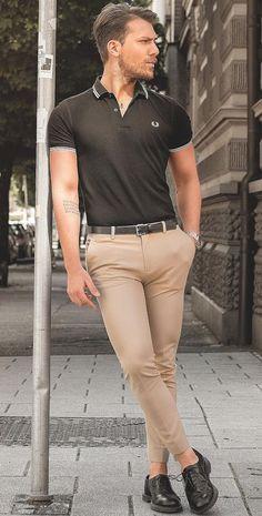 Macho Moda - Blog de Moda Masculina: Por que você PRECISA de mais Roupas em TONS TERROSOS? 5 Provas IMPOSSÍVEIS de ignorar! Mens Fashion Blog, Mens Fashion Suits, Men's Fashion, Casual Outfits, Cute Outfits, Men Casual, Chinos Men Outfit, Trajes Business Casual, Skinny Chinos