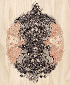 ~Trinity~In Hinduism, the Almighty Lord is considered to be an incarnation of three gods. This holy trinity is known as the Trimurti. The three gods of this trinity are Brahma, Vishnu, and Shiva. Hindus believe that the gods within trinity represent the… Shiva Hindu, Shiva Art, Shiva Shakti, Hindu Deities, Hindu Art, Krishna, Kali Shiva, Shiva Tattoo, God Tattoos