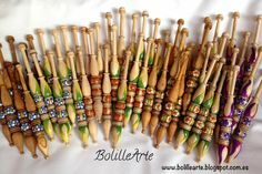 BolilleArte : Bolillos Modelo Shide / Bobbins Model Shide