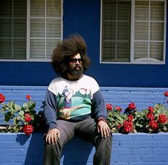 Reggie Watts shot by Megan Mcisaac Watts Los Angeles, Afro, Reggie Watts, Guys And Dolls, Gods And Goddesses, Trending Memes, Make Me Smile, Stylists, Photoshoot