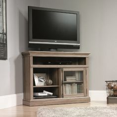 Sauder Barrister Lane Corner Entertainment Stand. Top contender. $221.30 free shipping