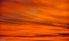 Texas Fire Sky #sunset #sky #nature #naturephotography #photography #orange #texas #december2015