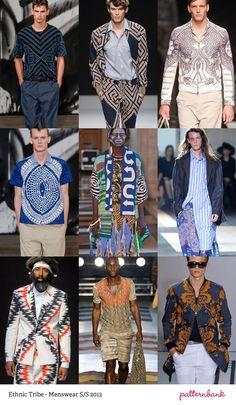 Menswear Print Trends   Spring/Summer 2013 Part 1 | print pattern catwalks