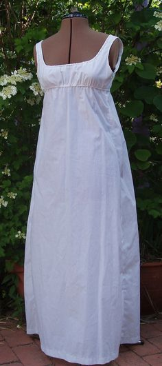 Regency Jane Austen Petticoat made to your by JaneAustenFestival