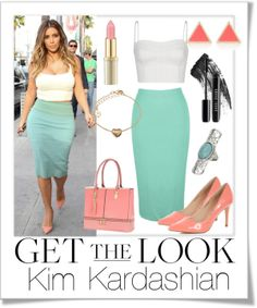 """""""Get the look...Kim Kardashian"""" by sweetie678 on Polyvore"""