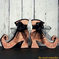 The Wood Connection - Witch Boot, $4.95 (http://thewoodconnection.com/witch-boot/)