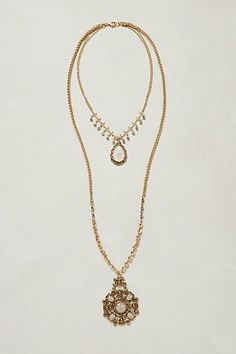 Bloomsbury Layered Necklace #anthropologie