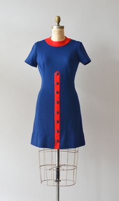 vintage 1960s dress | Push It Along dress
