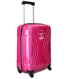 American Tourister Medium Size Hot Pink Vivolite Spinner 4 Wheel Trolley 70 Cm, http://www.snapdeal.com/product/american-tourister-hot-pink-vivolite/484651575