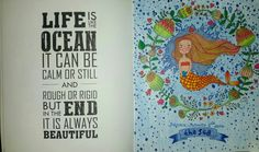 Coloring Book For Adults My Own World Antistress Renebook Thesea Girl