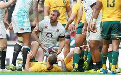 Consistent: Chris Robshaw's performance levels rarely drop below excellentPhoto: PA