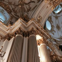 Pin Detail - World's Best Photo Gallery Angel Aesthetic, Gold Aesthetic, Classy Aesthetic, Aesthetic Vintage, Aesthetic Photo, Aesthetic Pictures, Baroque Architecture, Beautiful Architecture, Renaissance Architecture