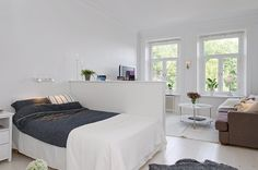 A small space, with lots of style. Quintessentially quirky and full of light birchandlittle.com