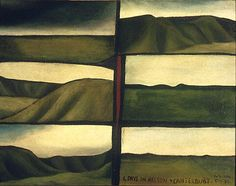 'Six Days in Nelson and Canterbury,' Colin McCahon, 1950.