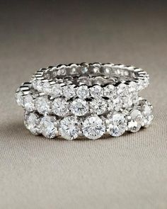 Eternity diamond rings