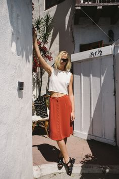Billie Top + Charlie Skirt