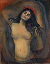Edvard Munch; Madonna; 1894; olio su tela; Munch Museuom,Oslo.