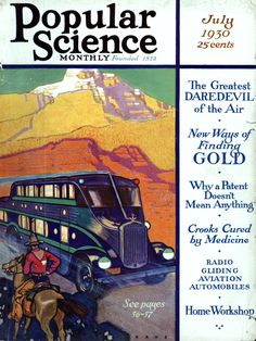 Strangers' Journey: Our New Project: 1930. Real Magazine Cover