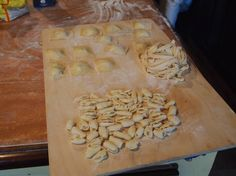 Making pasta in Italy. A quintessential culinary experience
