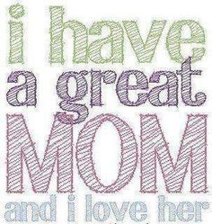 my mom best