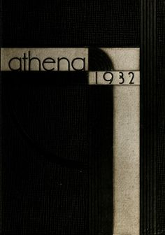Athena Yearbook, 1932. Click through to see the entire yearbook. :: Ohio University Archives
