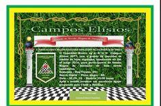 RITO    BRASILEIRO   DE MAÇONS ANTIGOS LIVRES E ACEITOS - MM.´.AA.´.LL.´.AA.´.: SESSÃO MAGNA DE INICIAÇÃOARLS CAMPOS ELÍSIOS 3977...