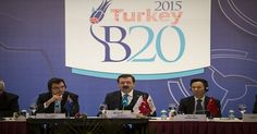 Turkey to boost Business-20's visibility during G20 term  B20 chief says body could play a decisive role in addressing global economic challenges where other intergovernmental efforts failed.  http://www.portturkey.com/finance/7700-turkey-to-boost-business-20s-visibility-during-g20-term