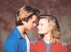 Martha Plimpton & River Phoenix (Mosquito Coast photoshoot)