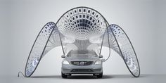 Volvo's Fold-Out Solar Charger