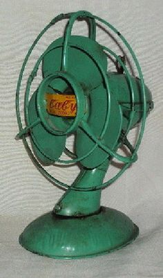 VINTAGE WIND-UP BABY FAN TIN TOY PATENT NO 20092 JAPAN RARE COLLECTIBLE c1940'S