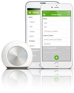 hiku - the Smart Kitchen Tool *Make a grocery list by scanning bar codes!!* #LGLimitlessDesign #Contest