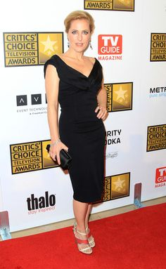 Gillian Anderson Photos: Broadcast Television Journalists Association Second Annual Critics' Choice Awards - Arrivals