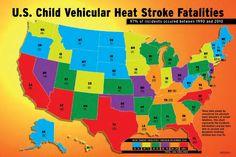 Car Heatstroke Map