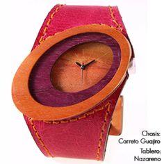 Reloj madera para mujer, Maguaco RM010