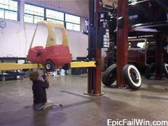 My kids will be Little mechanics
