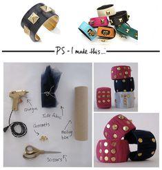 cuff bracelet #DIY #bracelet