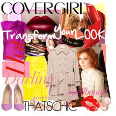 Transform your look with COVERGIRL, created by minniesoda on Polyvore
