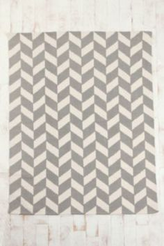 I love this grey and white rug from Urban Outfitters!!! Grey and White can blend in seamlessly with more than you think!!