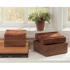 Box (Set of 2) (2/CS)  Kabecka - Brown Collection