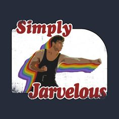 Awesome 'Edwin+Jarvis+is+simply+jarvelous%21' design on TeePublic!