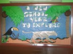 A New School Year Jungle Bulletin Board Idea