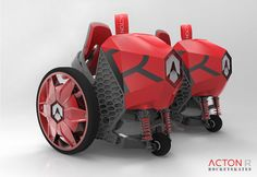 Let's nip your enthusiasm right in the bud: No, these motorized skates you see above aren't actually powered by rockets. Now hold on, don't close the browser...