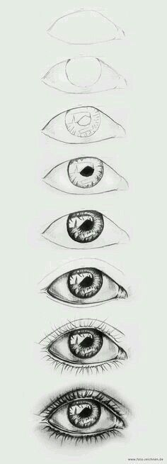 Pencil Drawing Tips 20 Amazing Eye Drawing Ideas Eye Drawing Tutorials, Drawing Techniques, Drawing Tips, Art Tutorials, Painting & Drawing, Magic Drawing, Drawing Lessons, Drawing Drawing, Drawing Faces